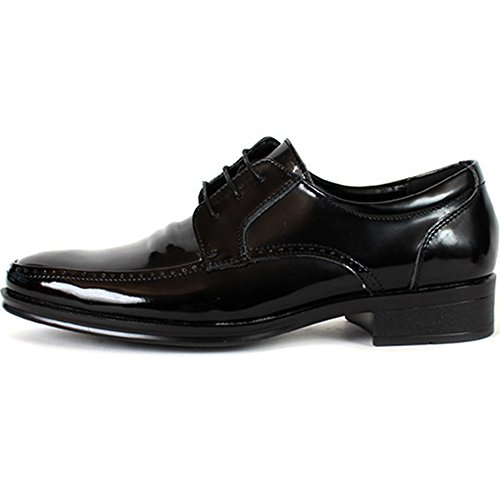 New Fashion Lace up Mens Oxford Dress Formal Loafers Leather Shoes Black