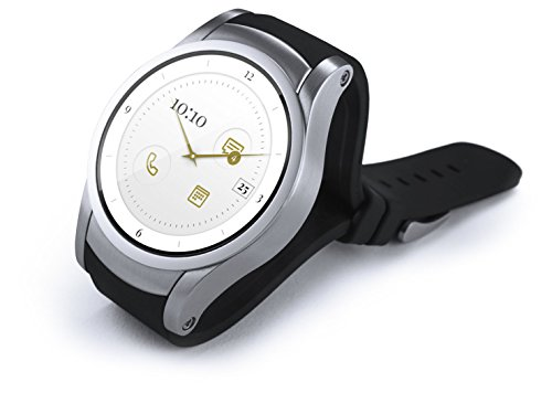 Wear24 Android Wear 2.0 42mm 4G LTE WiFi+Bluetooth Smartwatch (Stainless Steel) by Zemerotti (Image #1)