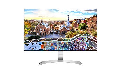 """LG 27MP89HM-S - Monitor FHD de 68,6 cm (27"""") con Panel IPS (1920 x 1080 píxeles, 16:9, 250 cd/m², sRGB >99%, 1000:1, 5 ms, 75 Hz) Color Plata"""