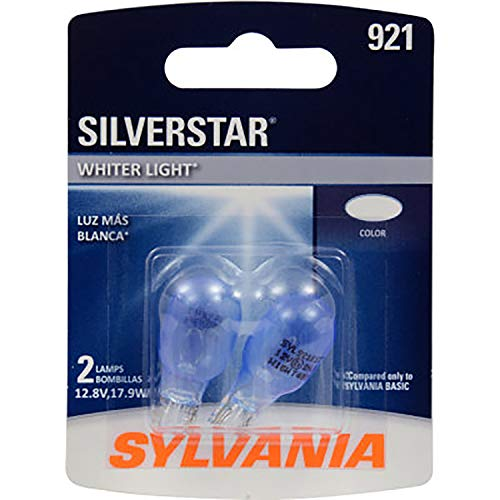 SYLVANIA 921 SilverStar High Performance Miniature Bulb, (Contains 2 Bulbs)