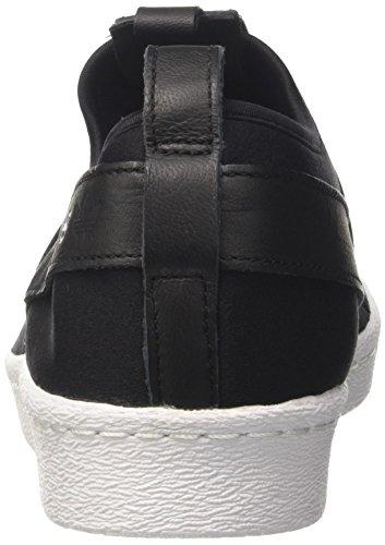 Adidas Originelen Superster Slipon Schoenen Kern Zwart / Wit