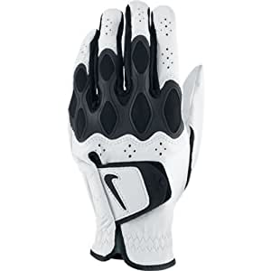 Nike Men's Dri Fit Tech Regular White Golf Glove, Left Hand, Small