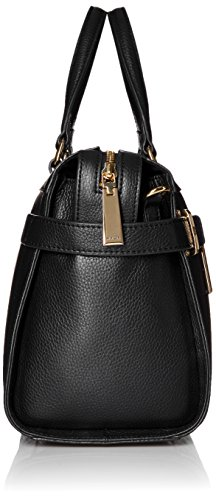 Satchel Savanna Black Tommy Hilfiger Leather qBT7P7
