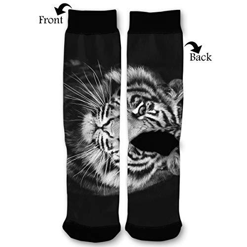 Fashion Travel Breathable Socks Black Rose Gif Tumblr Men & Women Running Casual -