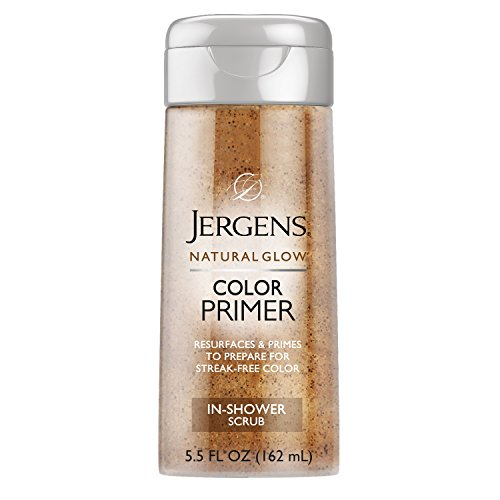 Jergens Natural Glow Color Primer Exfoliating In-Shower Body