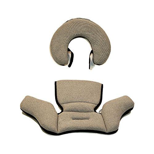 KeyFit 30 Zip Infant Car Seat Head & Body Insert Obsidian – Replacement Insert