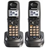 Panasonic KX-TGA939T 1.9GHz DECT 6.0 Additional Handset for Cordless Phone System (2 Pack)