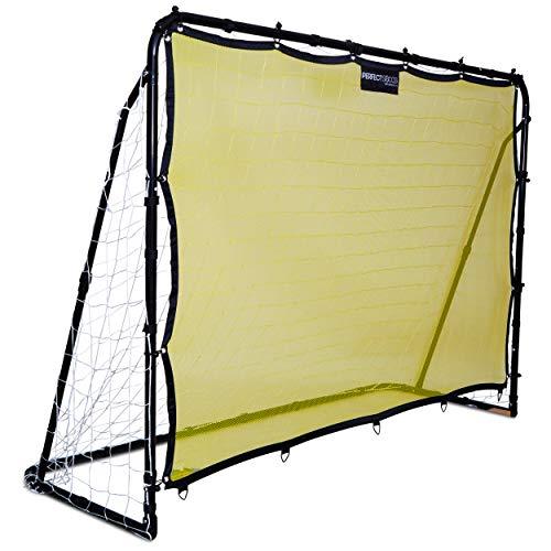 Crislan ANTOGOO Perfect Soccer Skills Premium Portable Soccer Goal + Rebounder Soccer