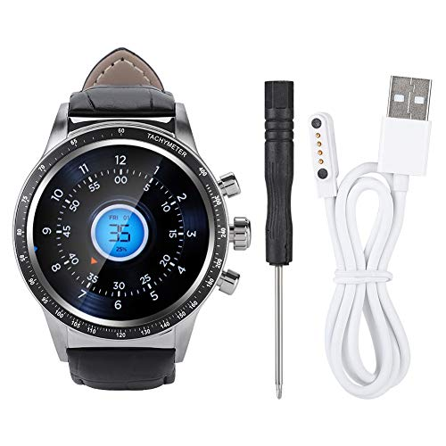 (Mugast 1G+16G GPS Smart Bracelet with Various Monitors, IP65 Waterproof Smart Watch, 2.4G WiFi, Support for Android Phone App, Black)
