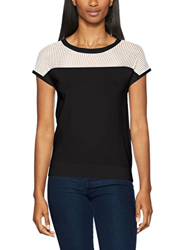 COLORS BENETTON Multicolore Femme Sweater Pull Black OF UNITED White aHnTWPAn