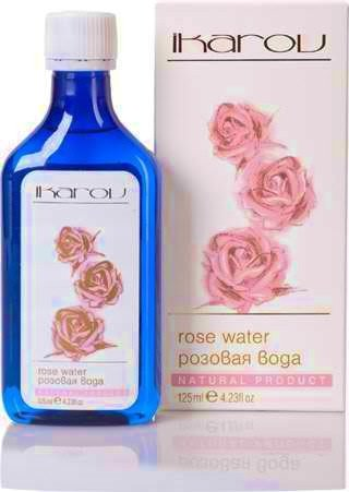Ikarov Natural Rose Water Stimulates Refreshes And Calms The Skin