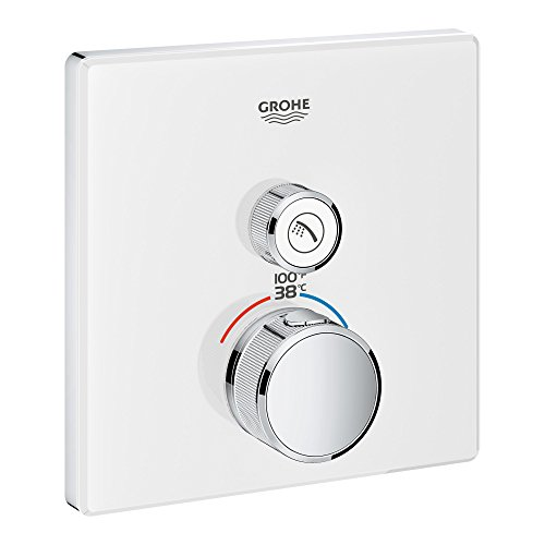 GROHE 29163LS0 29163 Glass Square US Thm Smartcontrol 1 by GROHE