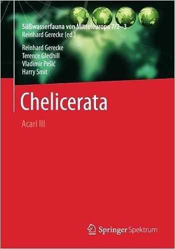 Book Süßwasserfauna von Mitteleuropa, Bd. 7/2-3 Chelicerata: Acari III
