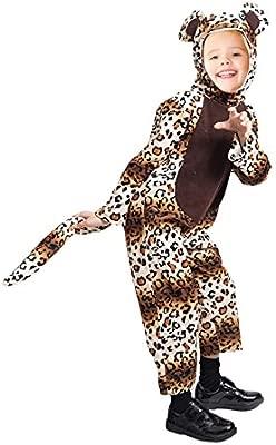 F127 Disfraz de leopardo, Tallas 2-3 años (92-98 cm), Trajes ...