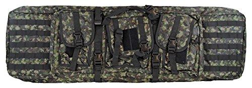 Global Deluxe Case (Gen X Global Deluxe Tactical Paintball or Airsoft Gun Case Bag - Digi Green)