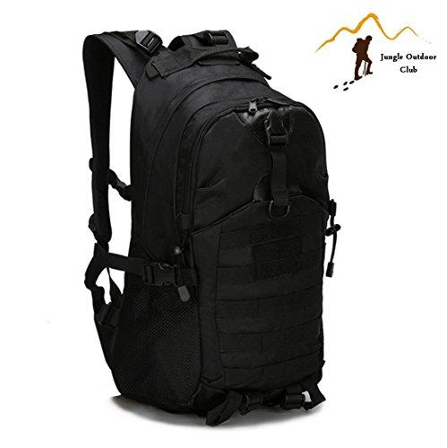 Jungle 35L laptop 511escursioni zaino da campeggio arrampicata arrampicata Outdoor tempo libero zaino camouflage spalle tasche bagagli e borse, nero