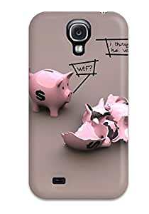 Hot S4 Scratch-proof Protection Case Cover For Galaxy/ Hot Funny Phone Case 3172626K15059537