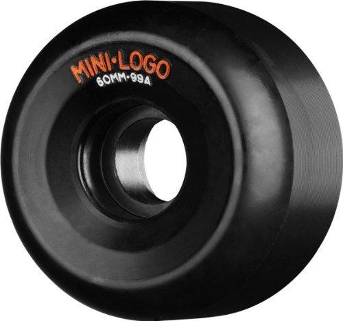 Mini Logo A-Cut 60mm 99a Black Skateboard Wheels (Set Of 4)