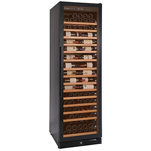 Wine Enthusiast Classic L VinoView 160 Bottle Wine Cellar - Built-In or Freestanding Wine ()