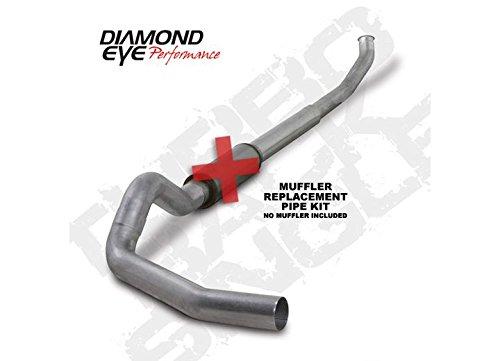 (Diamond Eye K5222A-RP Turbo-Back Exhaust Kit)