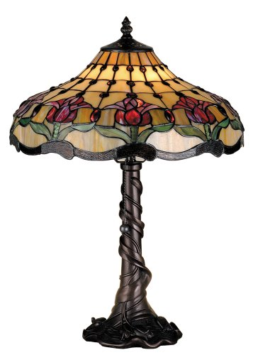 19.5 Inch H Colonial Tulip Table Lamp Table ()