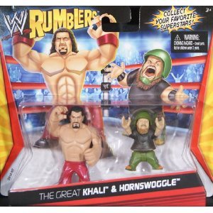 WWE Rumblers The Great Khali and Hornswoggle Figure 2-Pack -