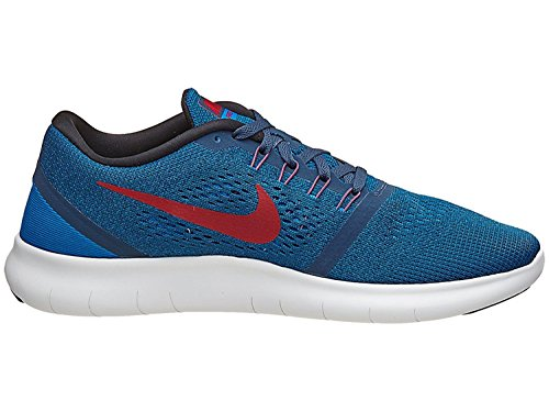 Nike Mens Free RN Distance Running Shoe Squadron Blue/Gym Red/Blue Spark/Black