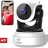 Version Victure WiFi IP Camera 720P HD Wireless Indoor Home Security Surveillance Camera Night Vision Motion Detection Playback 2-Way Audio Dome Home Monitor Baby Elder Pet Pan/Tilt/Zoom