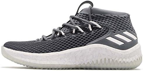 adidas Men's Dame 4, OnixFootwear WhiteOnix, 15 M US
