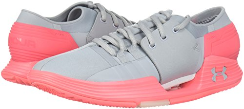 overcast Gray Low Up Armour brilliance Womens Running Overcast Sneaker Lace Under Gray Top Speedform WZnW7H