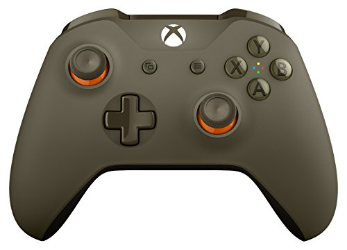 Microsoft Xbox One S Wireless Controller Green & Orange,