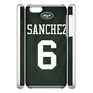 iphone5c Phone Case White New York Jets JHL307359