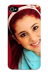 Catenaryoi High-quality Durability Case For Iphone 4/4s(ariana Grande)