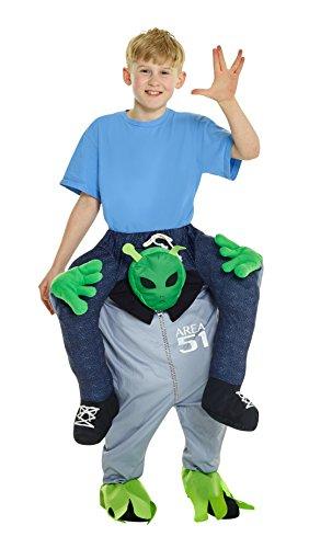 Morphsuits Alien Piggyback Kids