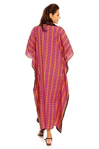 Maxi Kimono Libre Coupe Taille Neuf Jaune 20802 Tunique Robe Pour Caftan Caftan Femmes Oversize ZPq4xSI4