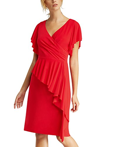 Damen Fashion Rot APART Lipstickred Kleid 106nq