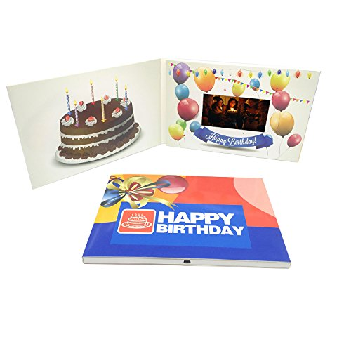 Fanciful Birthday Wishes For Own Video Brochure Ecards 43 Inch Build In 512MB Memory Message Card