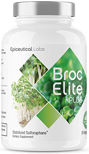 BrocElite – Vitamin and Mineral Supplement – Broccoli Sulforaphane Extract – Anti-Inflammatory Joint Support – Immune Support – Strengthen Existing Neurons, Promote Cognitive Health