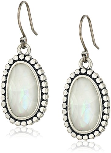Lucky Brand Womens Mother-of-Pearl Drop Earrings II