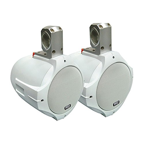 Pyle Two Way White Marine Speakers