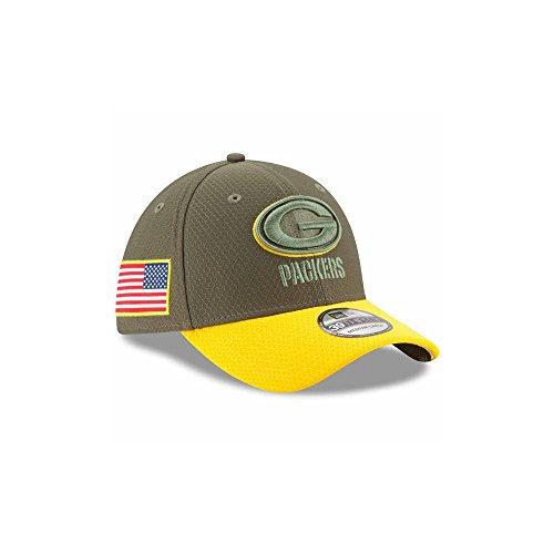 Green Bay Packers Salute To Service Fitted Hat 4708fde15