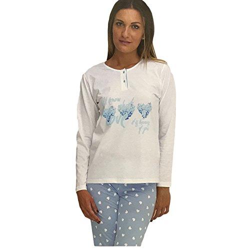 Amica Pigiama Donna pantaloni/maniche lunghe Art.71A210