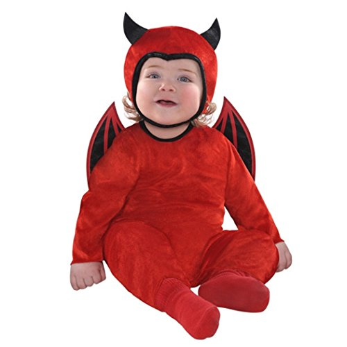 Cute As A Devil Costume - Baby (Scary Baby Costumes For Halloween)
