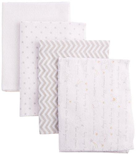Nuby Cotton Cuddly Receiving Blanket