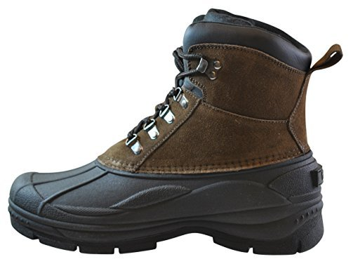 totes Mens Mike Duck Boot, Brown, 9