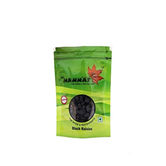 Mannat Afghan Black Raisins (seedless), 200g