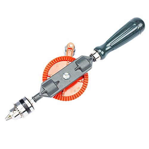 - Sunnyys New! Hand Drill 1/4-inch(0.6-6mm) Capacity-Powerful & Speedy,Steel Manual Mini