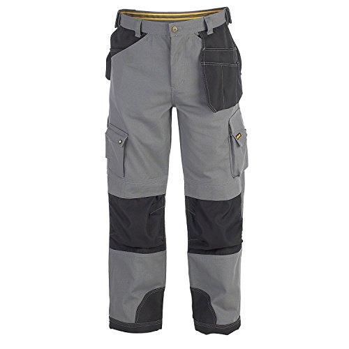 Caterpillar C172 Cargo Arbeitshose für Männer, standard Beinlänge Grey Black
