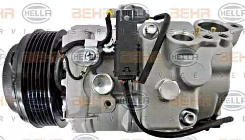 BEHR HELLA SERVICE 8FK 351 105-781 Compresor, aire acondicionado: Amazon.es: Coche y moto