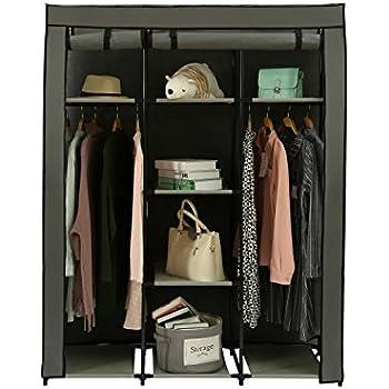Amazon Com 39 Quot Portable Home Wardrobe Storage Closet